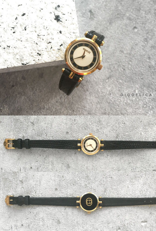 5c17e359b687 送料無料 Vintage GUCCI インポート ヴィンテージ 【GUCCI】オールドグッチ・ヴィンテージウォッチ 腕時計 時計  v1226【DIGDELICA】ディデリカ