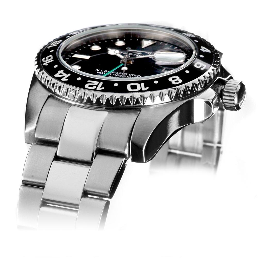 科技看科技 200 m/20 压力防水手表单向旋转挡板手表潜水员看看有限的模型手表是男士手表手表手表手表手表手表手表手表手表格林尼治标准时间