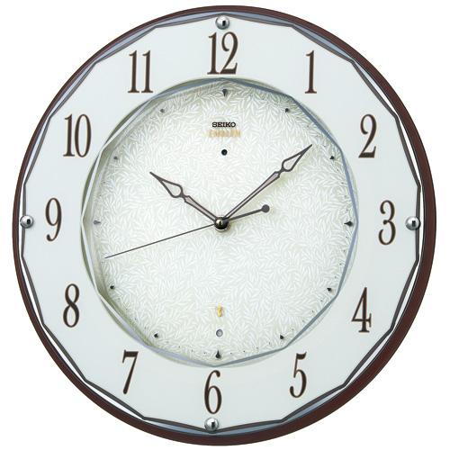 SEIKO セイコー 掛け時計 スタンダード EMBLEM エムブレム 電波 HS524B【お取り寄せ】
