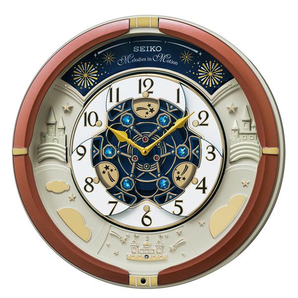 SEIKO セイコー 掛け時計 アナログ からくり トリプルセレクション メロディ RE601B【お取り寄せ】