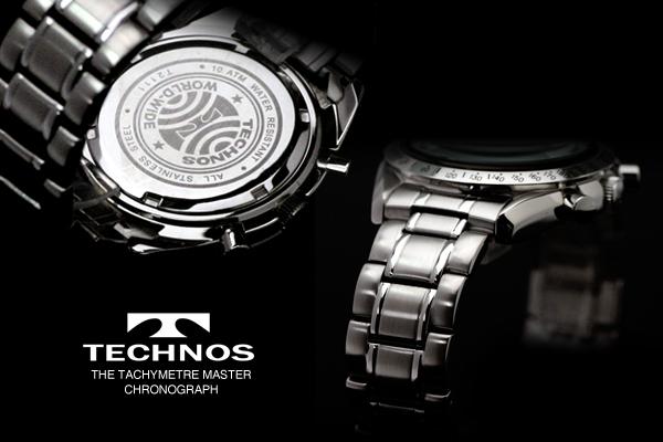 男子的技术TECHNOS的计时仪限定型号手表T2111SW