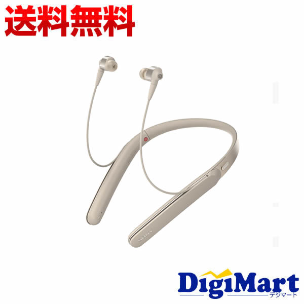 【送料無料】ソニー SONY WI-1000X (N) ネックバンド型 Bluetoothイヤホン [シャンパンゴールド]【新品・並行輸入品】