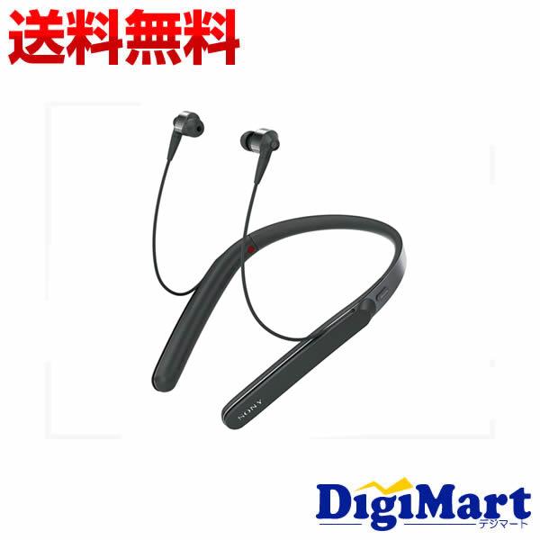 【送料無料】ソニー SONY WI-1000X (B) ネックバンド型 Bluetoothイヤホン [ブラック]【新品・並行輸入品】
