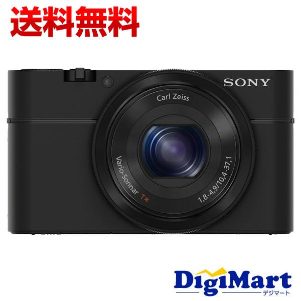 【送料無料】ソニー SONY サイバーショット DSC-RX100 [ブラック] デジタルカメラ【新品・国内正規品】(DSCRX100)
