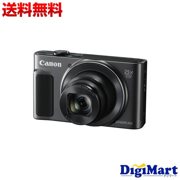 【送料無料】キャノン Canon PowerShot SX620 HS [ブラック] デジタルカメラ【新品・国内正規品】