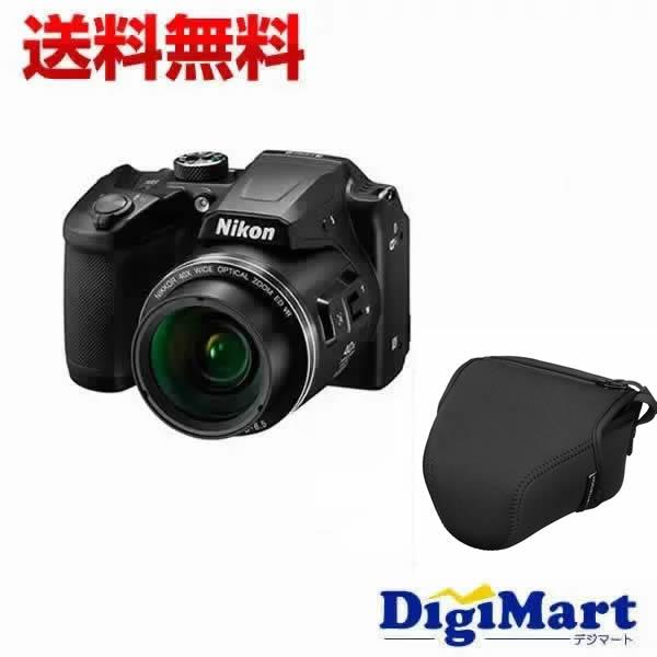 【カード決済でポイント7倍】 [23日 20:00から]【送料無料】ニコン Nikon COOLPIX B500 [ブラック] デジタルカメラ&専用バッグ & 8GB SDカードのセット【新品・国内正規品】