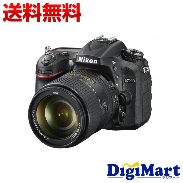 【カード決済でポイント7倍】 [21日20時から]【送料無料】ニコン Nikon D7200 18-300 VR スーパーズームキット デジタル一眼レフカメラ 【新品・国内正規品】