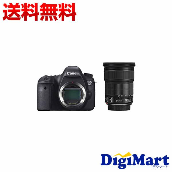 【送料無料】キャノン EOS 6D EF24-105mm F3.5-5.6 IS STM レンズキット デジタル一眼レフカメラ 【新品・国内正規品】