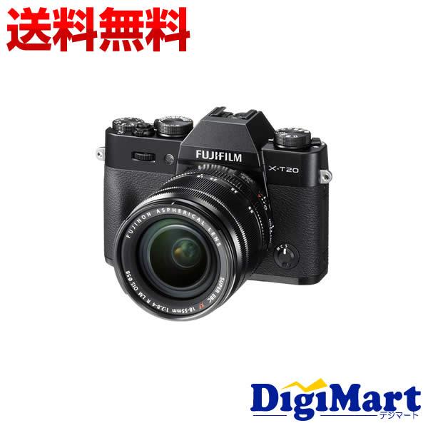 【送料無料】富士フイルム FUJIFILM X-T20 レンズキット [ブラック] デジタル一眼レフカメラ【新品・国内正規品】