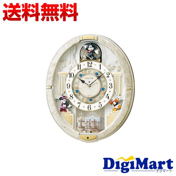 【送料無料】セイコー SEIKO CLOCK ミッキー&フレンズ 掛け時計 アナログ FW580W
