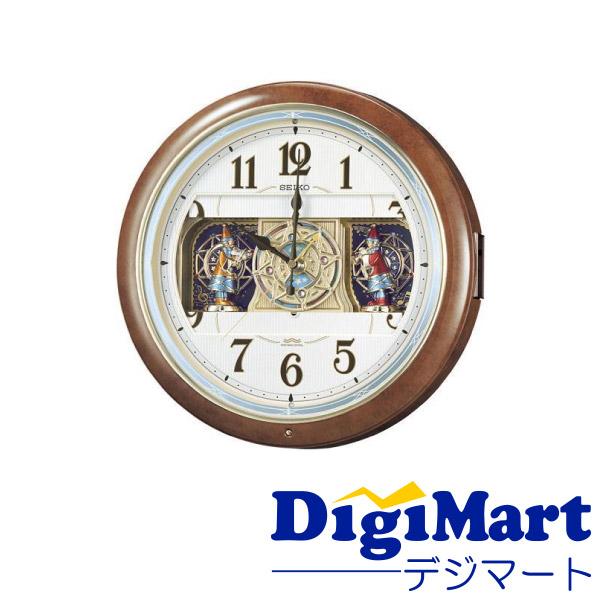 送料無料 セイコー SEIKO クロック 掛け時計 新作 RE559H アナログ メロディ 電波 6曲 からくり 激安通販