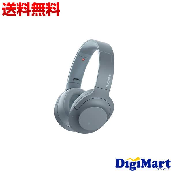 【送料無料】ソニー SONY h.ear on 2 Wireless NC WH-H900N (L) [ムーンリットブルー] Bluetoothヘッドホン【新品・並行輸入品】