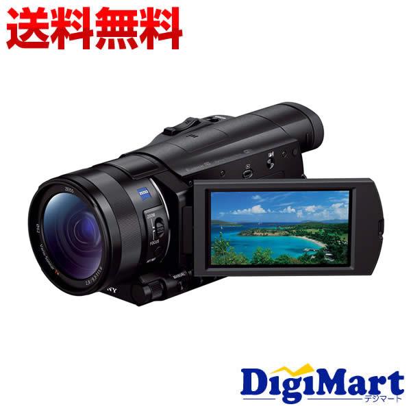【送料無料】ソニー SONY FDR-AX100 [ブラック] SD対応4Kビデオカメラ+ 予備バッテリー(NP-FV100A)お買い得セット【新品・国内正規品】(FDRAX100)
