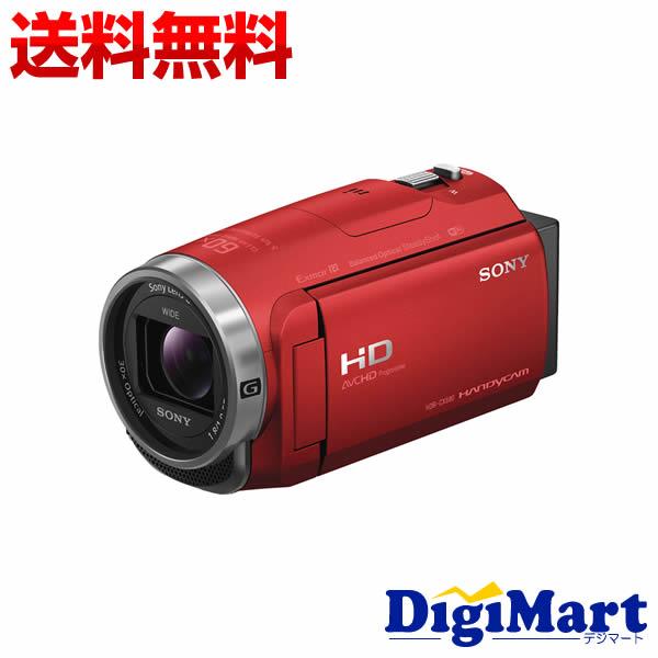 【送料無料】ソニー SONY HDR-CX680 (R) [レッド] ビデオカメラ【新品・国内正規品】(HDRCX680)