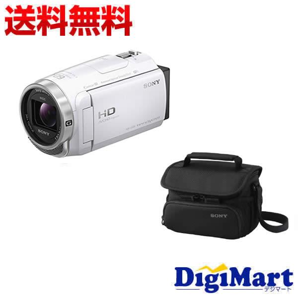 【送料無料】ソニー SONY HDR-CX680 (W) [ホワイト] ビデオカメラ + ソニー純正バッグ + 8GB micro SDカード お買い得セット【新品・国内正規品】