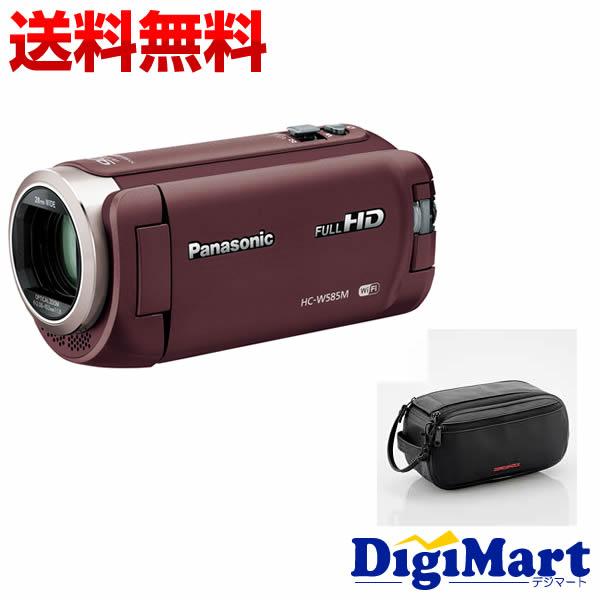 【送料無料】パナソニック PANASONIC HC-W585M-T [ブラウン] ビデオカメラ + ZEROSHOCKビデオカメラケース お買い得セット【新品・国内正規品】