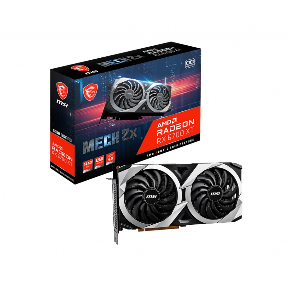 送料無料 MSI Radeon 全品送料無料 RX 6700 XT MECH AMD 搭載 グラフィックスカード RADEON OC ギフト プレゼント ご褒美 12G 2X