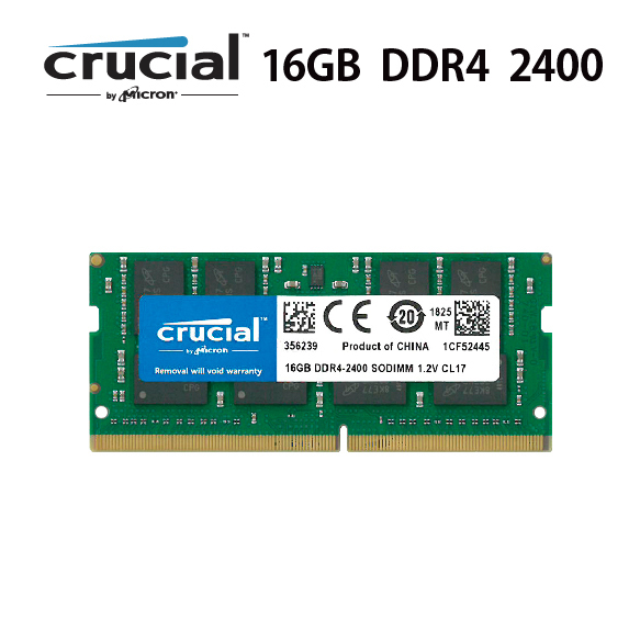 Crucial  Micron製増設 メモリ 16GB  iMac 27インチ 2017 Mid  DDR4  2400 PC4  19200 SO-DIMM 260pin  C260-2400-16-2017Mid PC ネット ゲーム 快適