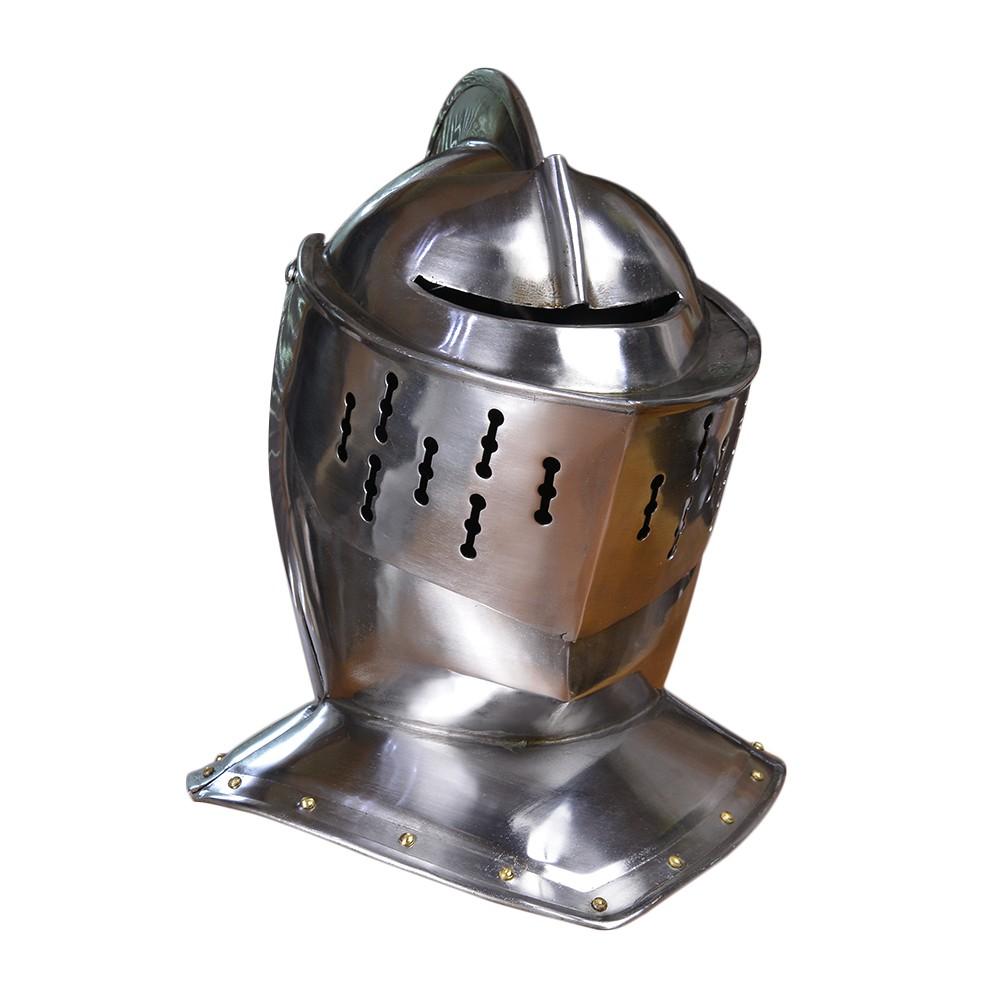 西洋甲冑 中世ヨーロッパ式 兜 ナイトヘルメット 騎士 防具 防御
