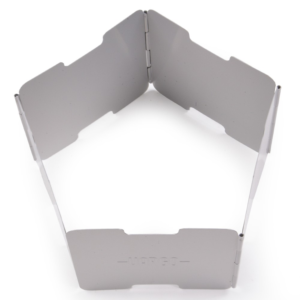 VARGO アルミニウム製 ウインドスクリーン 風防 [ ナチュラル ] バーゴ 風よけ クッカーアクセサリ キャンプ用品 アウトドア用品