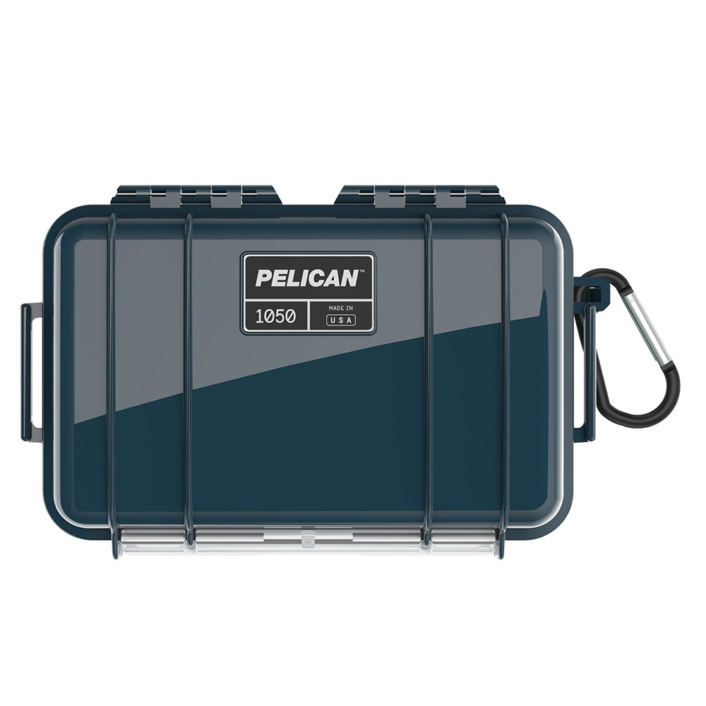 小型部品からスマートフォンまで収納できるマイクロケース PELICAN マイクロケース 2020新作 1050 ソリッド 誕生日 お祝い インディゴ クリア ブラック CBK ダイビング 透明 プラスチックボックス 防水ボックス プラスチックケース 保護ケース 携帯電話 デジカメケース 防水ケース