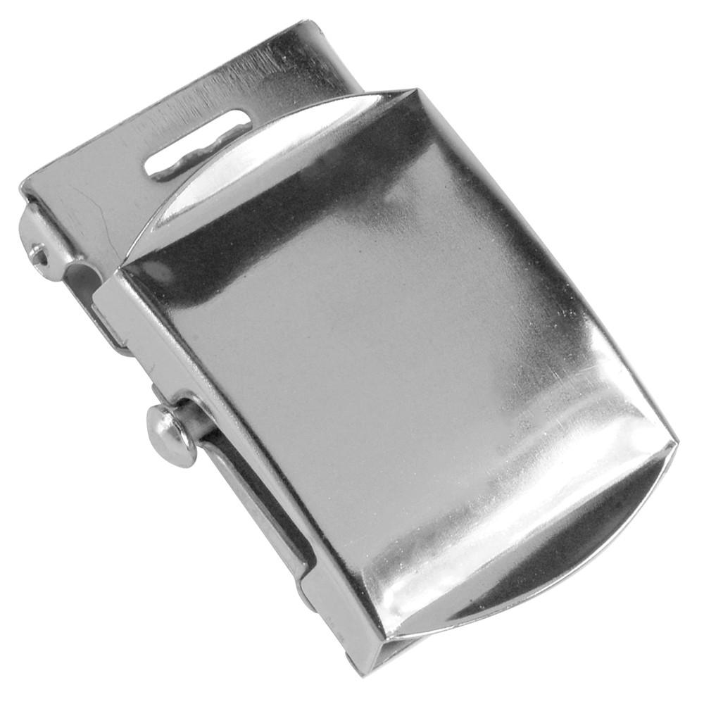 ミリタリーブランド ロスコ社のベルトバックルベルト幅は約30mmまで使用する事が可能バックルには文字やロゴなど入っておらず、シンプルなデザインとなっています Rothco ベルトバックル 布ベルト用 [ シルバー ] 交換用 ベルト用バックルのみ アメリカンバックル USAバックル BUCKLE メンズ 取替え用バックル 交換用バックル 交換用ベルトバックル