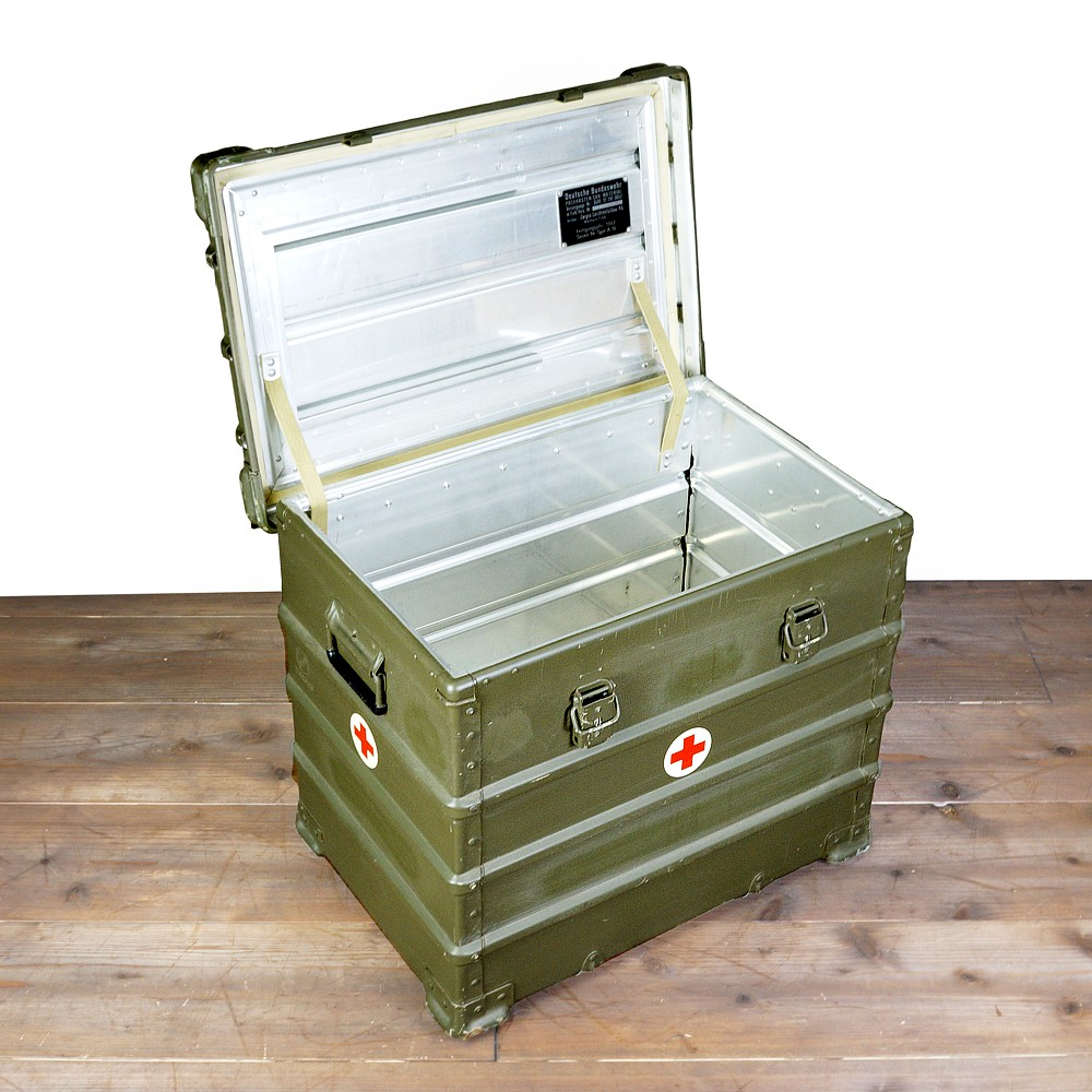 Army surplus military box aluminum container Germany military army surplus  military surplus storage box aluminum box olive drab Interior bedding  military ... d607519daa3