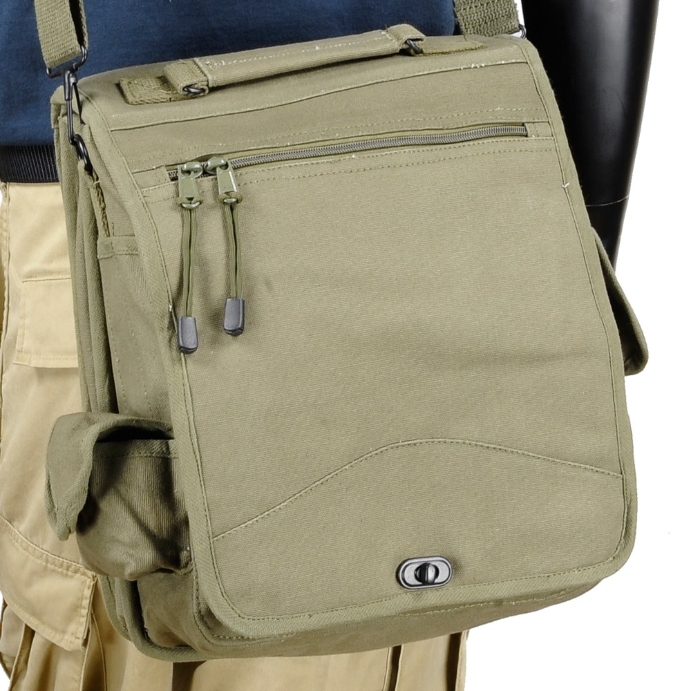 Rothco Field Bag Engineers M 51 Canvas Olive Drab 8612 Shoulder Messenger Bags Casual Military Also