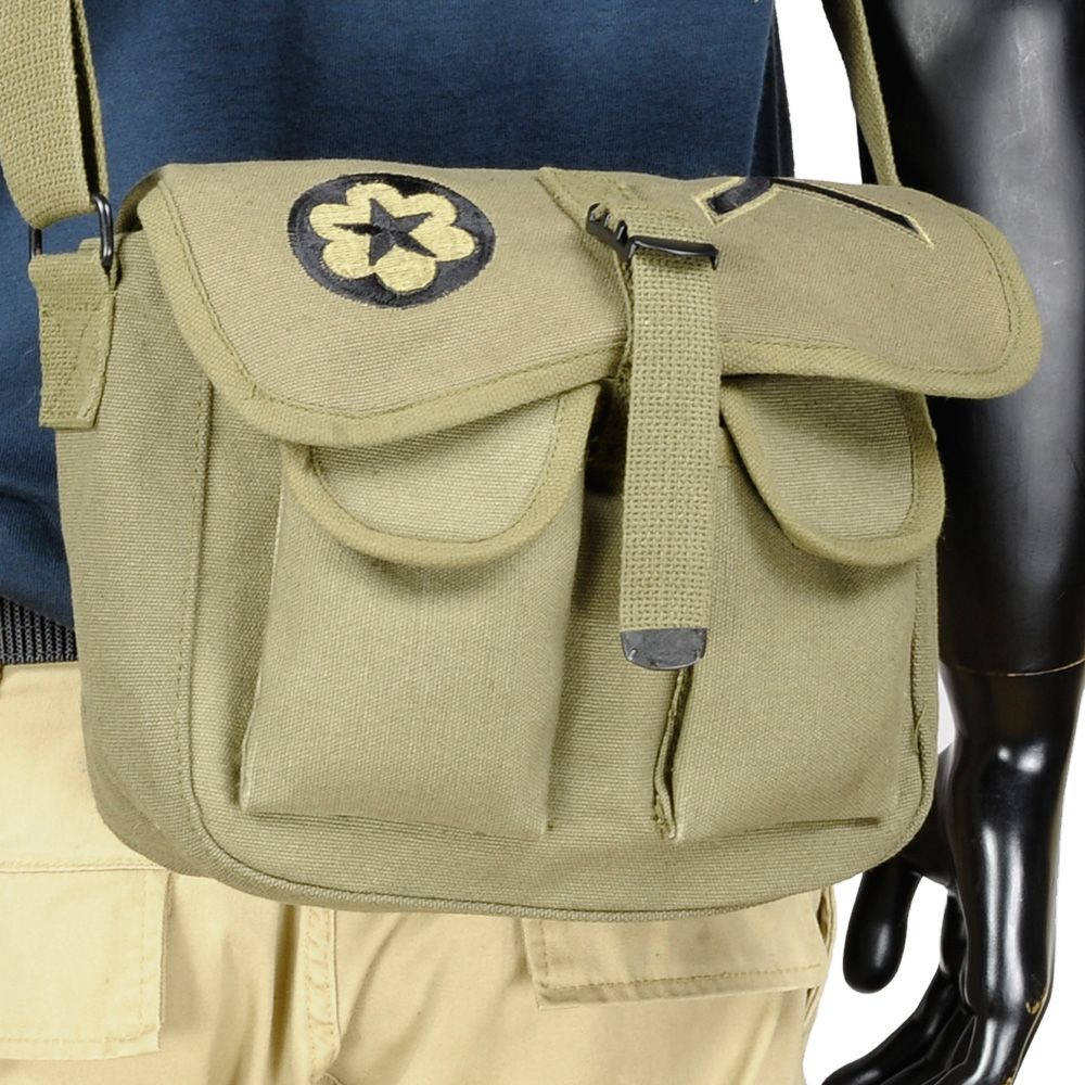 Small Canvas Military Tool Bag - Canvas Bag - Harry s Army . 25bfa26376a1d