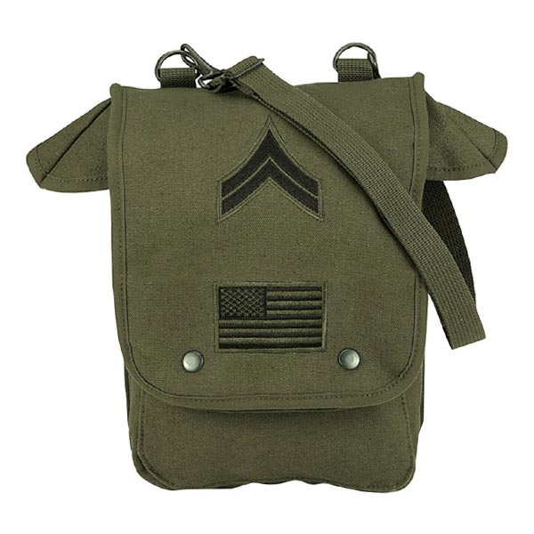 87e8fad47fdb Rothko shoulder bag American flag Sergeant class chapter embroidered  olive-drab Mens Big Rothco bag casual bag bag bag military canvas also bag  OD ...