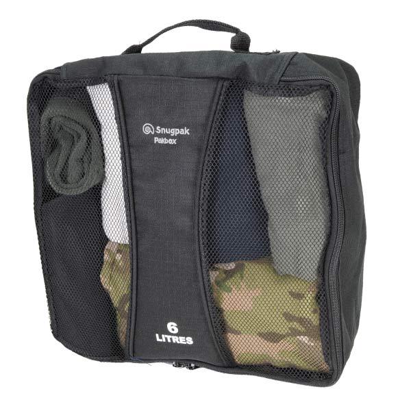 Snugpak トラベルポーチ パックボックス ナイロン [ 6L ] 衣類収納ケース PAKBOX SNUGPAK | ユーティリティーポーチ ミリタリーポーチ ユーティリティ・ポーチ