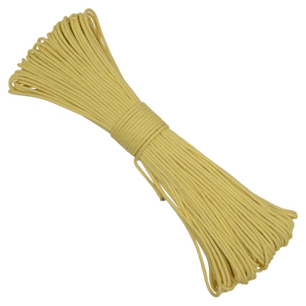 アラミド繊維製の高強度タクティカルコード ATWOOD ROPE タクティカルコード 30m アラミド繊維 イエロー 難燃コード 紐 ロープ アラミドコード アラミド糸 ケブラーコード ケブラーロープ アラミド紐 ナイロンコード アラミドロープ パラシュートコード 数量限定アウトレット最安価格 ケブラー糸 アトウッドロープ 10%OFF ケブラー紐 ひも