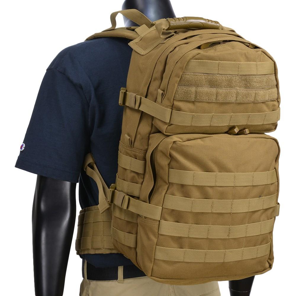 CONDOR バックパック ミディアム アサルト 129 [ コヨーテブラウン ] OUTDOOR コンドル・アウトドア リュックサック ナップザック デイパック カバン かばん 鞄 ミリタリー ミリタリーグッズ サバゲー装備