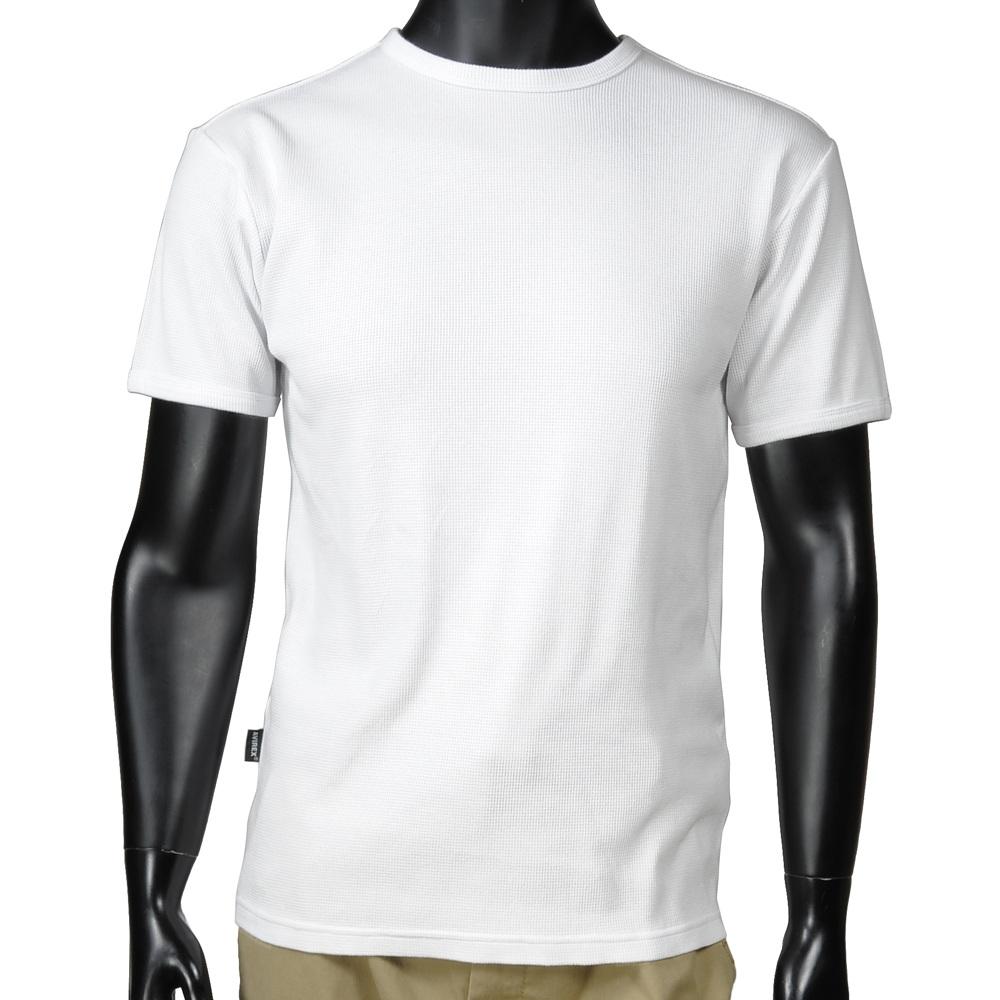 Repmart Avirex T Shirt Short Sleeve Crew Neck Waffle Plain Daily