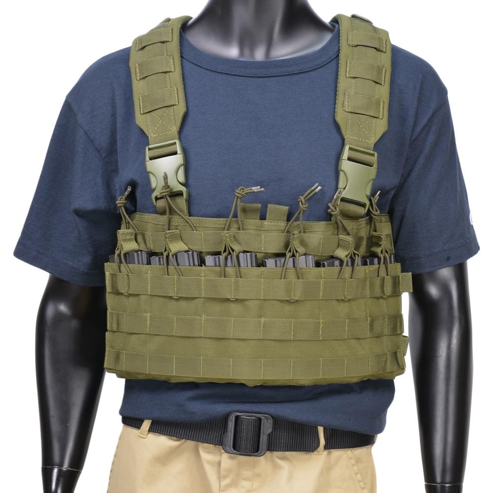 CONDOR チェストリグ MCR6 ラピッドアサルト [ オリーブドラブ ] 弾薬帯 M4マガジンポーチ M16マガジンポーチ M4マグポーチ M16マグポーチ サスペンダー