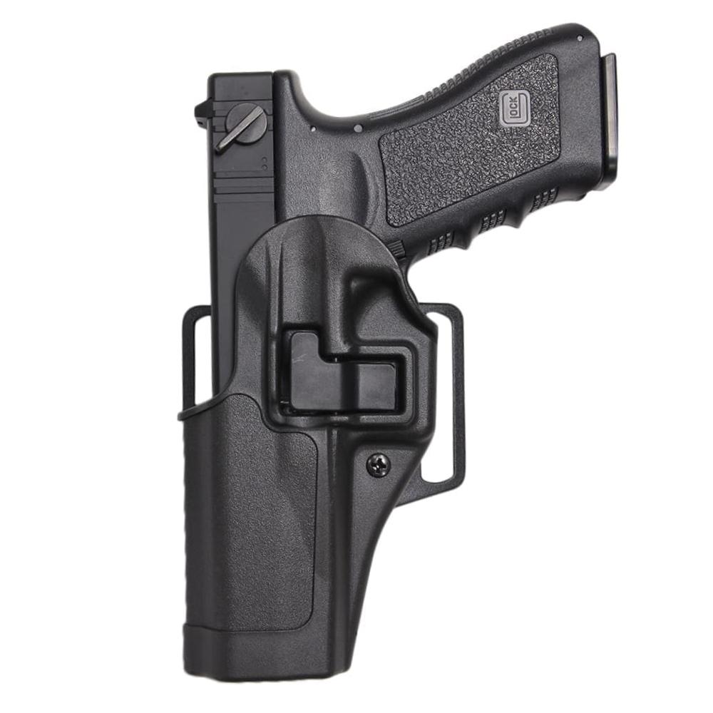 超特価 9mmフルサイズグロック用よりわずかに幅広な設計 BLACKHAWK 実物 SERPA CQCホルスター 評判 GLOCK 17 18C他 20 21サイズ 左利き ブラック ブラックホーク グロック 近接格闘 拳銃嚢 スミス シェルパ BHI Glock2021 MP.45 ウエッソン ヒップホルスター ウェッソン 410513BK CQBホルスター 右利き