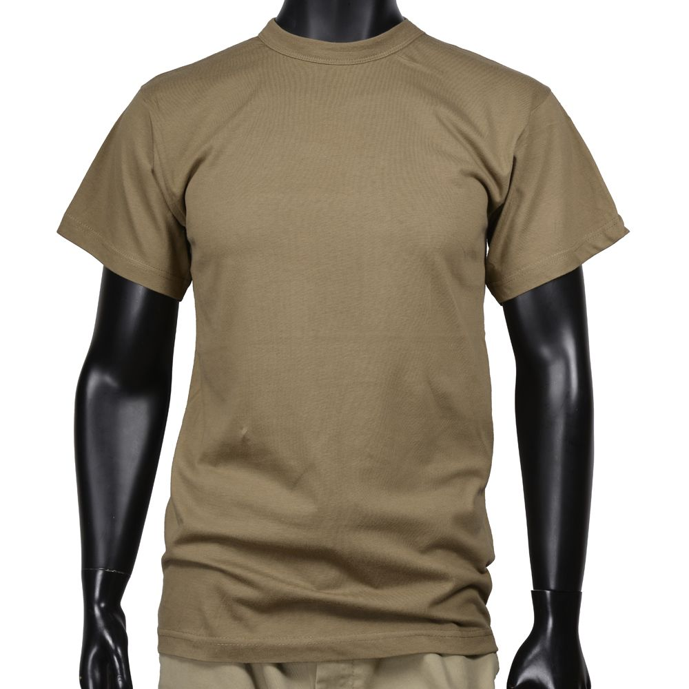 393e63ee2577a ROTHCO military brand short-sleeved T shirt. Skin-friendly cotton 100% is a  plain crew neck t-shirt.  Note  size is a US size