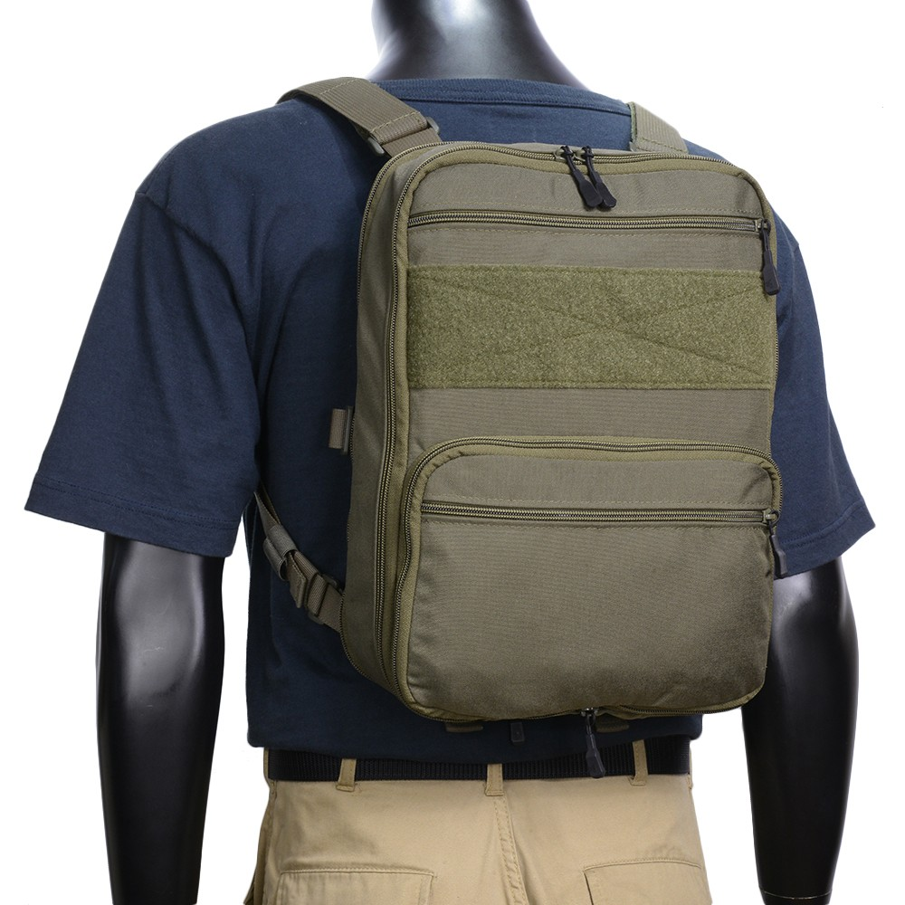 HALEY STRATEGIC フラットパック PLUS ベルクロインテリア [ レンジャーグリーン ] ハーレー・ストラテジック バックパック リュック リュックサック ナップザック デイパック カバン かばん 鞄 ミリタリーグッズ サバゲー装備