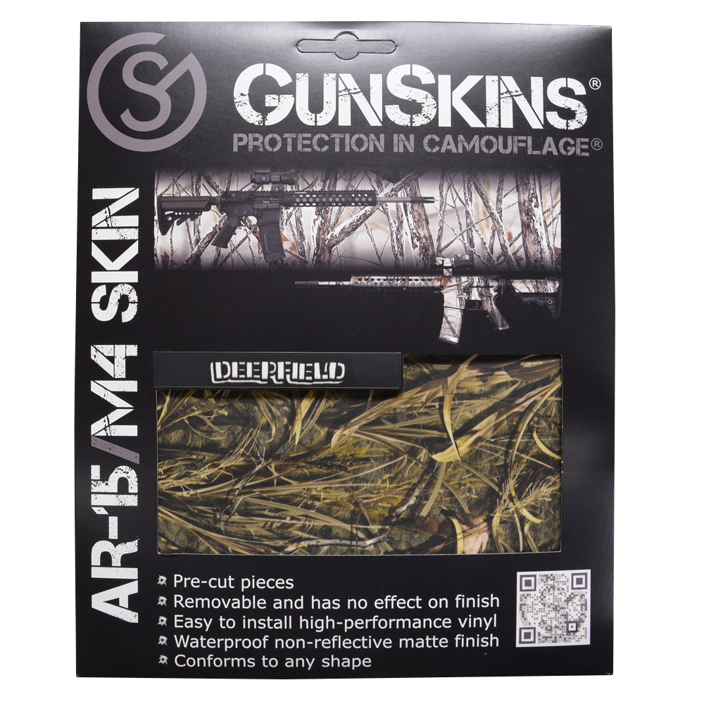 GunSkins 保護フィルム AR-15 M4用 ライフルスキン [ ディープフィールド ] ガンスキンズ 保護ラップ ラッピングシート シール テープ 迷彩テープ Gear
