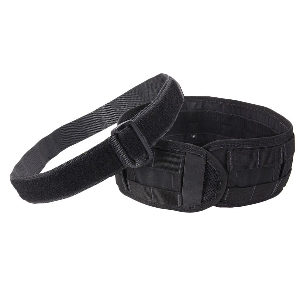 VTAC Skirmishベルト 実物 インナーベルト付き MOLLE対応 [ ブラック / Lサイズ ] バイキング・タクティクス underbelt モール 3インチ リガ―ベルト