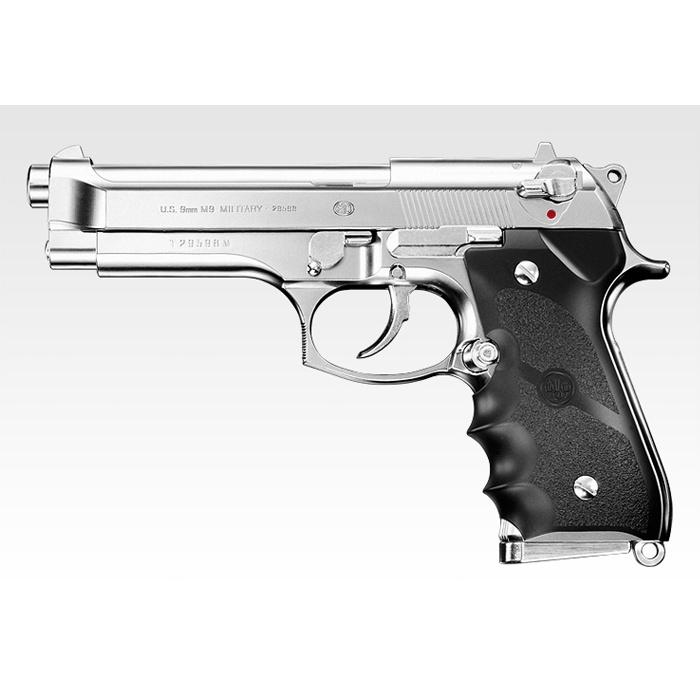 東京マルイ ガスガン ベレッタ M92F ミリタリーモデル クロムステンレス | Beretta TOKYO MARUI ハンドガン 抹消 ピストル ガス銃 18才以上用 18歳以上用 ガスブローバック