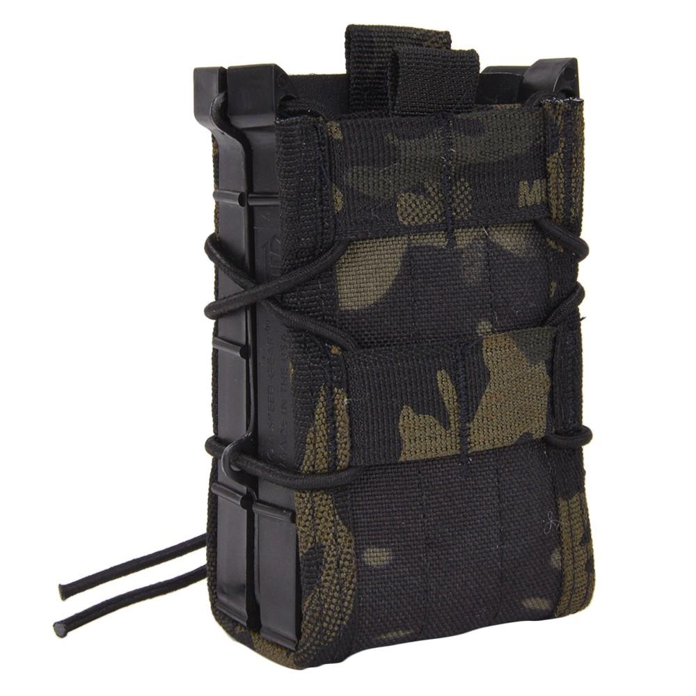 ハイスピードギア TACOマグ 実物 ライフルマグポーチ X2R 112R00 [ マルチカムブラック ] M4マガジンポーチ M4マグポーチ シングルマガジンポーチ 弾倉