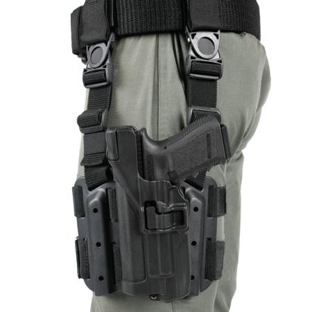 ブラックホーク レッグホルスター SERPA LV3 グロック20 [ 左利き ] Blackhawk Glock2021S&WM&P.45 430613BK-L | セルパ シェルパ サイホルスター 太もも 太腿 BHI スミス&ウエッソン スミス&ウェッソン