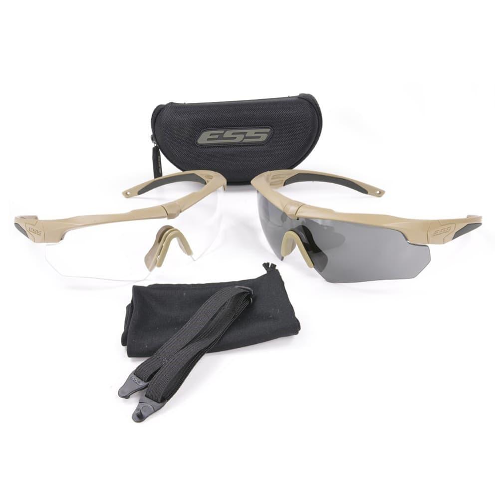 ESS サングラス クロスボウ 2X テレインタンフレーム クロスボー Crossbow メンズ スポーツ 紫外線カット UVカット グラサン 運転 ドライブ バイク ツーリング 曇り止め