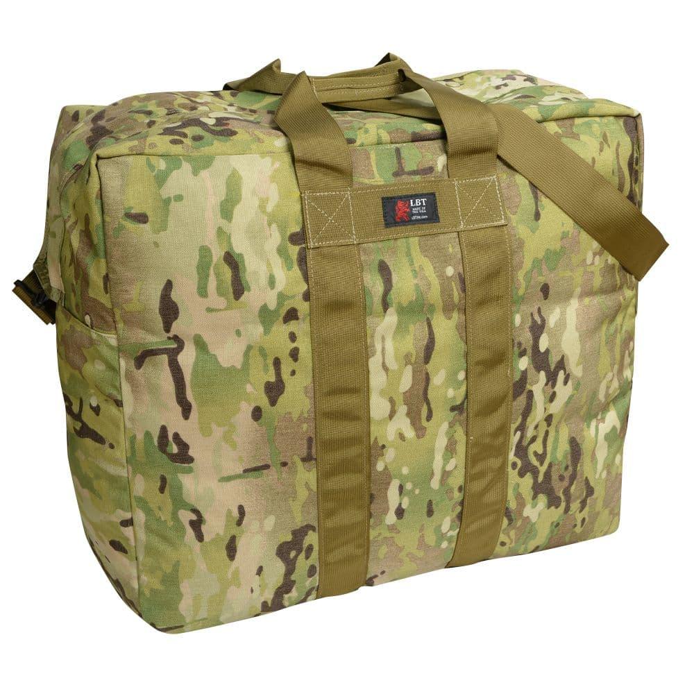 大量の衣類などを持ち運ぶ際に便利な大容量ボストンバッグ LBT ボストンバッグ Fliers Kit Bag LBT-155N [ マルチカム ] London Bridge Trading ロンドンブリッジトレーディング ミリタリー用品 ミリタリーバッグ 手提げかばん 手提げカバン 手提鞄 ショルダーバッグ ショルダーバック 肩掛けかばん 肩掛けカバン MULTICAM