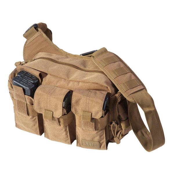 5.11タクティカル ベイルアウトバッグ 56026 ショルダーバッグ [ ダークアース ] | 511Tactical ショルダーバック メッセンジャーバッグ かばん カジュアルバッグ カバン 鞄 ミリタリー 帆布 斜めがけバッグ