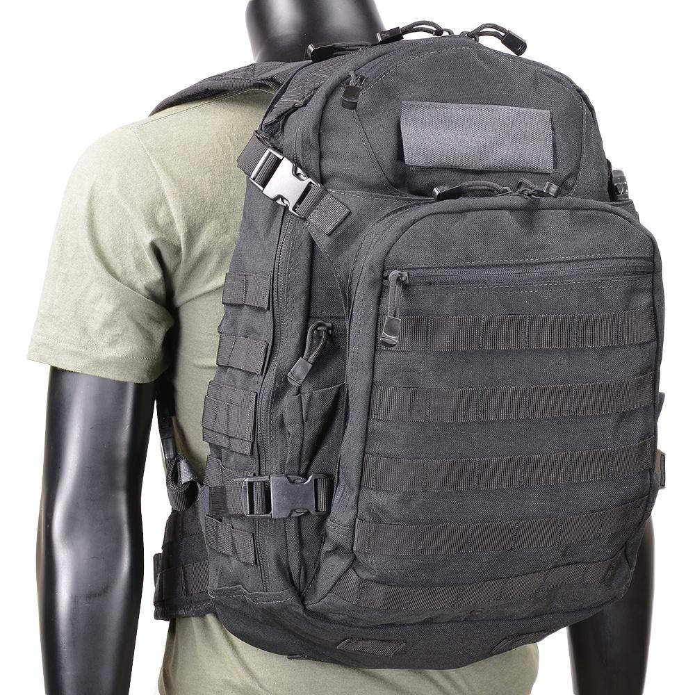 CONDOR バックパック 160 ベンチャー [ ブラック ] コンドルアウトドア リュックサック ナップザック デイパック カバン かばん 鞄 ミリタリー ミリタリーグッズ サバゲー装備