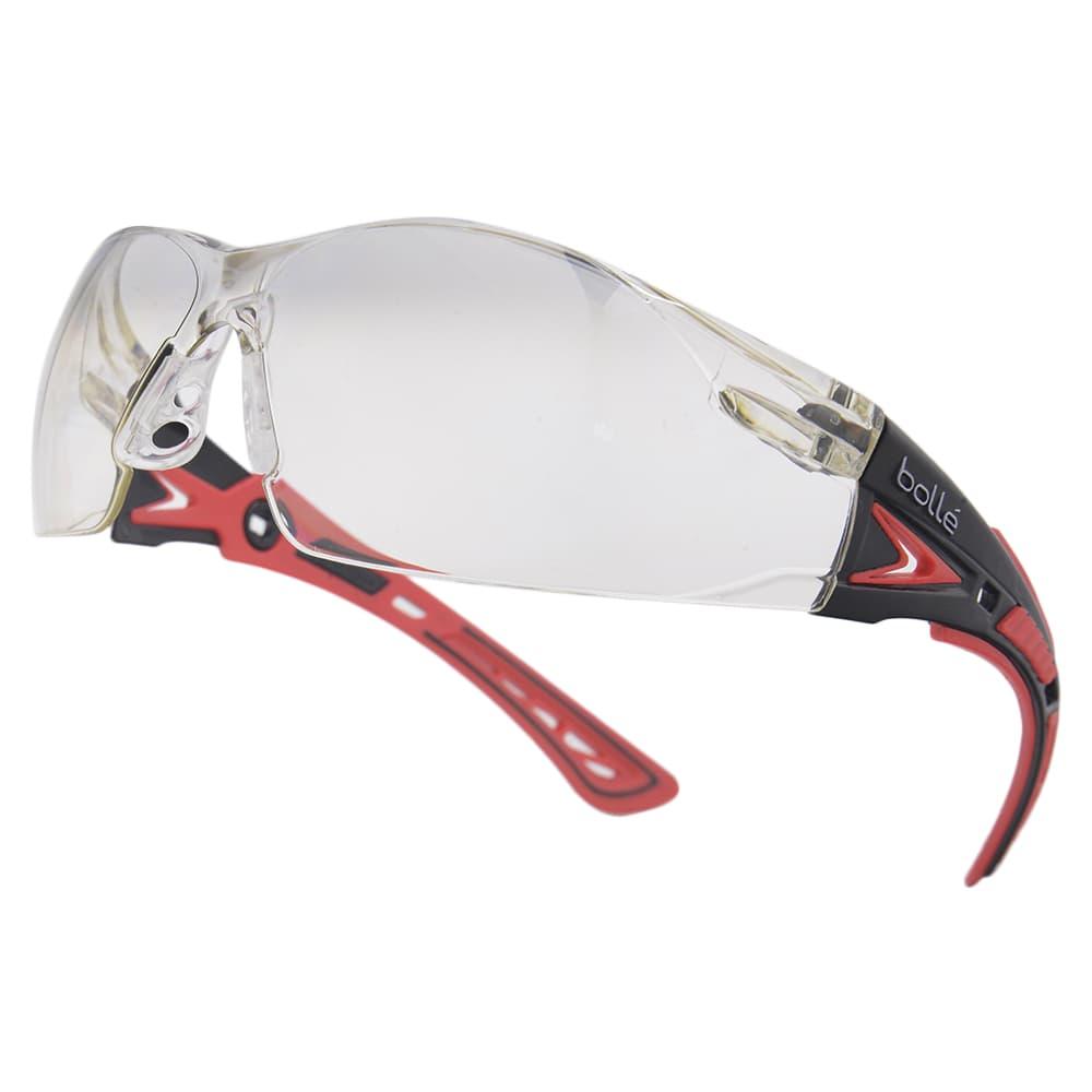 フィット感抜群でデザイン性の高いセーフティグラス Bolle セーフティグラス RUSH PLUS コントラストレンズ ブラックレッド 海外並行輸入正規品 メンズ アイウェア 完全送料無料 紫外線カット 保護メガネ 保護眼鏡 サングラス 作業用メガネ UVカット 曇り止め 安全メガネ 保護めがね セーフティーグラス