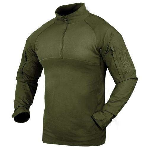 CONDOR コンバットシャツ 101065 [ オリーブドラブ / XXLサイズ ] ミリタリーシャツ 長袖シャツ ロングTシャツ アーミーシャツ アサルトシャツ TDUシャツ