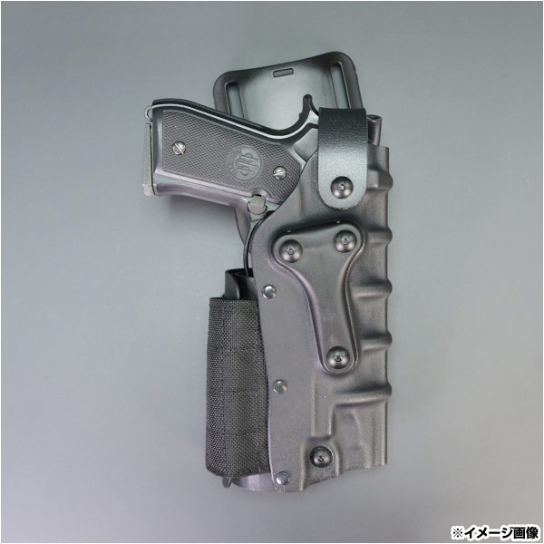 Safariland ヒップホルスター ベレッタ M9、92F、92 3285-73-131 Glock サイホルスター 太もも 太腿